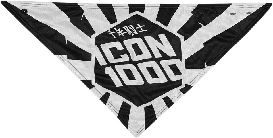 Icon 1000 Highway бандана - белый
